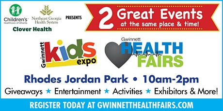 Gwinnett  Health Fair/All About Kids Expo &  Back To School Bash tickets