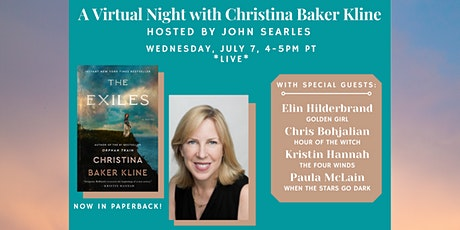 Christina Baker Kline #1 NYT Bestselling author discussing THE EXILES tickets