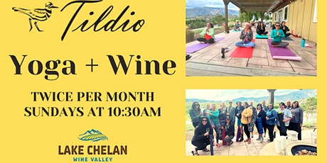 Yoga + Wine at Tildio Winery tickets