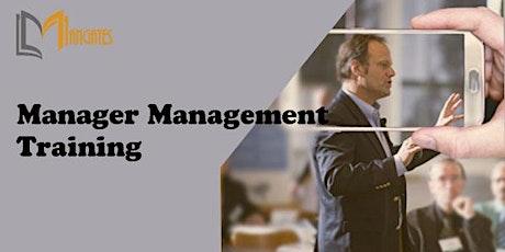 Manager Management 1 Day Training in Geneva billets