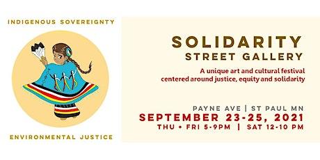 Solidarity Street Gallery 2021 tickets
