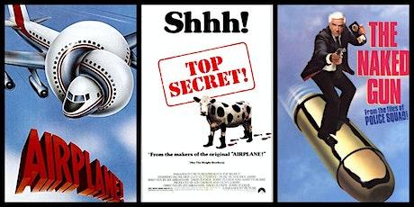 AIRPLANE/TOP SECRET/NAKED GUN triple 35mm @ The Secret Movie Club Theater tickets