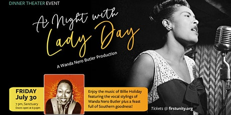 A Night with LADY DAY Dinner Theater Event by ARTS 46/4 & Wanda Nero Butler tickets