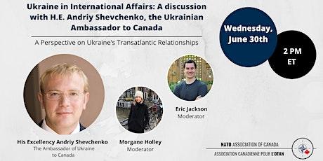 The Future of Transatlantic Cooperation: A Ukrainian Perspective tickets
