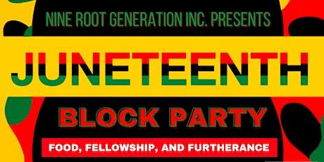 Juneteenth Block Party tickets