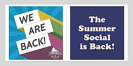 2021 Summer Social tickets