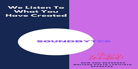 SOUNDBYTES  Book-writers, musicians, public-speakers, lyricist's tickets