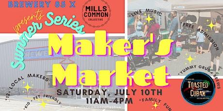 Summer Series Makers Market- Greenville,SC tickets