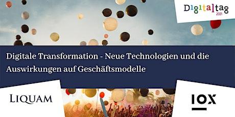 Digitale Transformation- Technologien und Auswirkungen auf Geschäftsmodelle Tickets