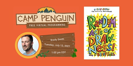 Camp Penguin: Drawing Workshop with Brady Smith (Random Acts of Drawness!) tickets