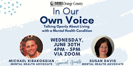 In Our Own Voice - Talking Openly About Mental Illness tickets