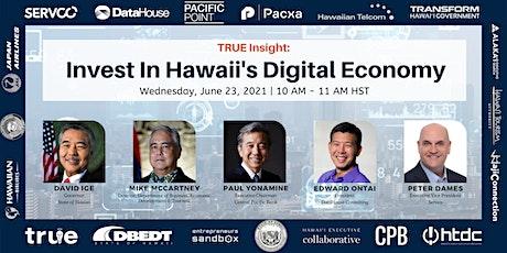 Invest in Hawaii's Digital Economy entradas