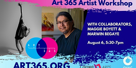 Art 365 Artist Workshop: Marwin Begaye & Maggie Boyett tickets