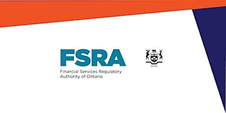FSRA's Live Webinar on Ontario's Proposed New Credit Union Rules tickets