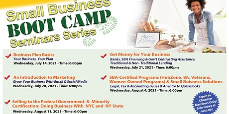 Small Business Boot Camp Seminar Series tickets