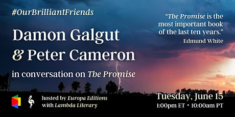 THE PROMISE: A Conversation with Damon Galgut & Peter Cameron tickets