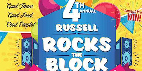 Russell Rocks The Block-4th Annual RRTB tickets