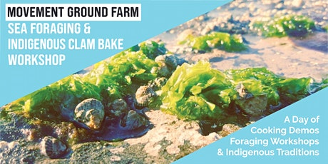 Movement Ground Farm Annual Sea Foraging and Indigenous Clam Bake Workshop tickets