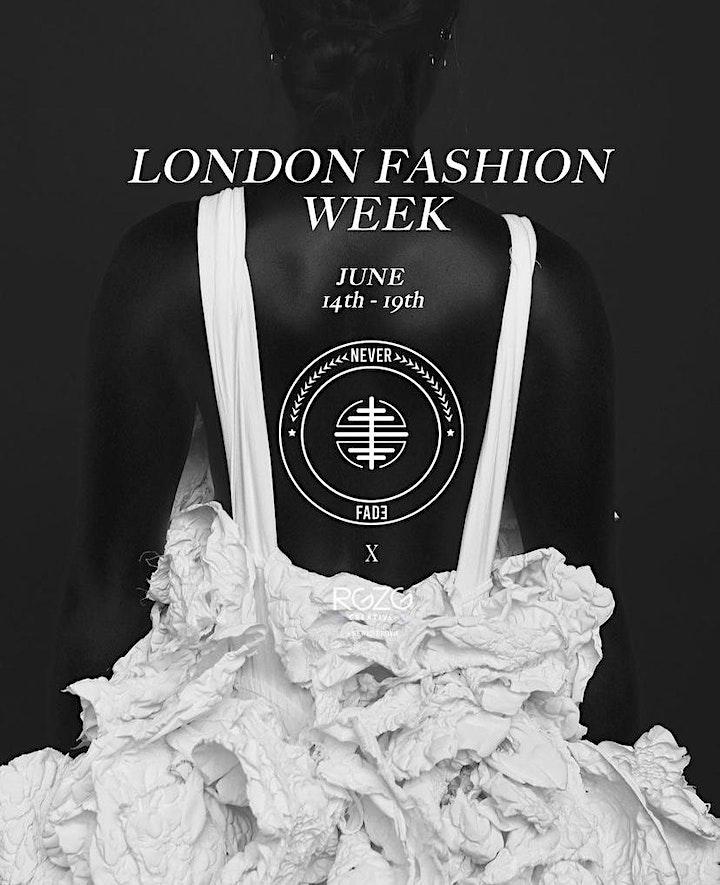 LONDON FASHION WEEK LIVE FASHION SHOW image