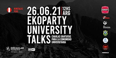 Ekoparty University Talks Perú  2021 tickets