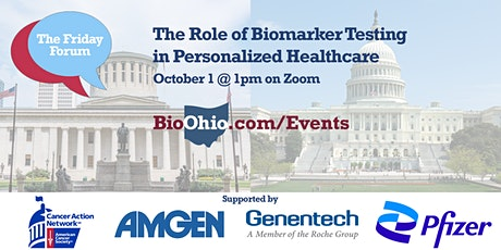 The Friday Forum: The Role of Biomarker Testing in Personalized Healthcare tickets