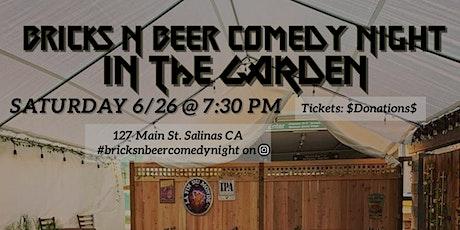 Bricks N Beer Comedy Night tickets