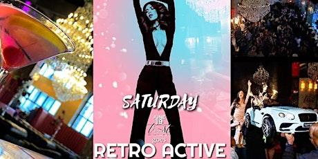 RETRO ACTIVE w/ SUMMER MAGIC Saturday @ Trust Detroit tickets