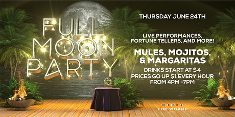 FULL MOON Party at The Wharf Miami tickets