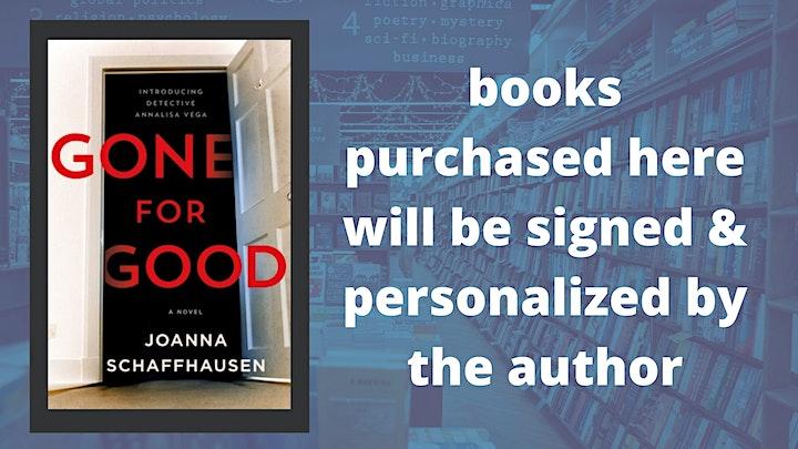 Joanna Schaffhausen: Gone for Good image