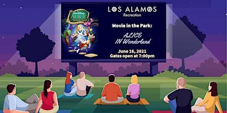 Movies in the Park: Alice in Wonderland tickets