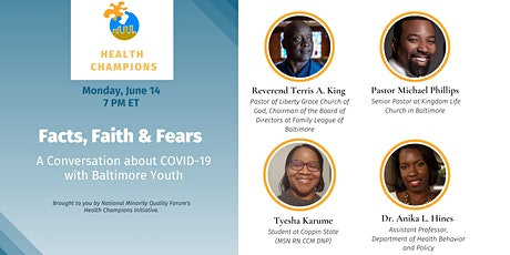 Facts, Faith & Fears: A Conversation about COVID-19 with Baltimore Youth tickets