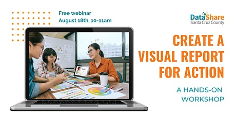 Create Visual Data Report: A hands-on workshop tickets