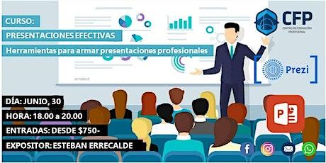 Presentaciones Efectivas - Herramientas para el armado de presentaciones! entradas