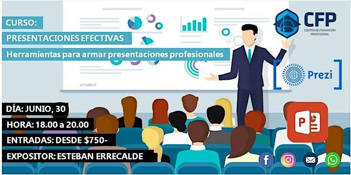 Imagen de Presentaciones Efectivas - Herramientas para el armado de presentaciones!