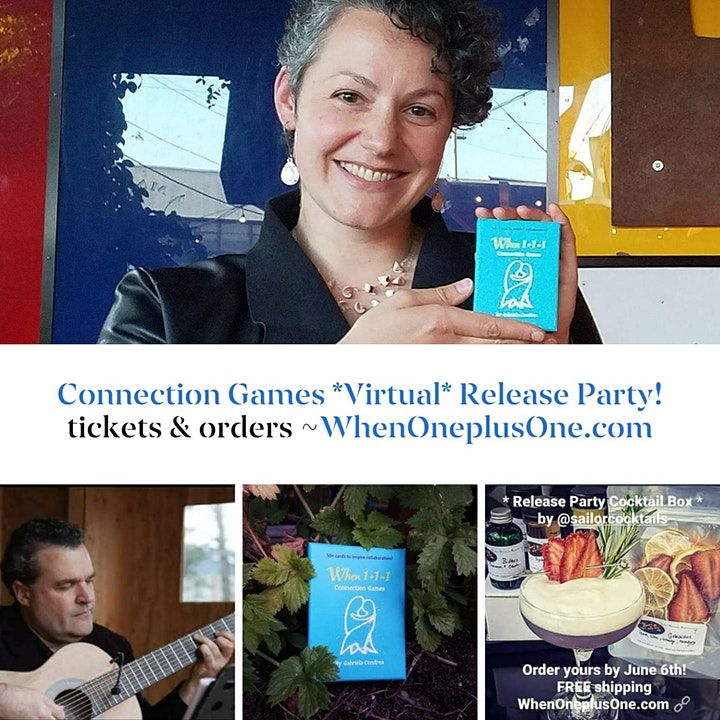 Connection Games *Virtual* Release Party! image