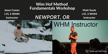 Wim Hof Method Fundamentals Workshop (Newport OR) tickets