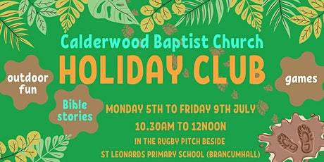 Outdoor Holiday Club 2021 tickets