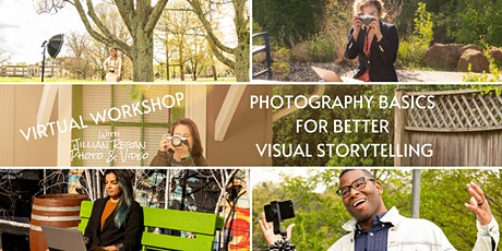 Photography Basics for Better Visual Storytelling -Day 3 - People tickets