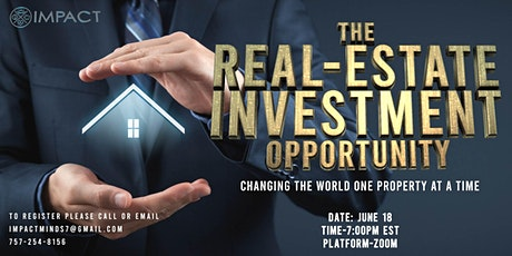 Real Estate Investment Opportunity tickets