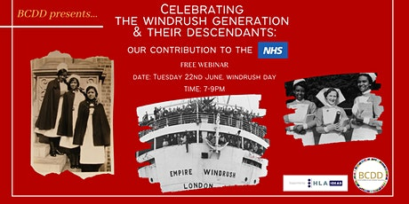 Contribution of the Windrush generation & their descendants to the NHS tickets