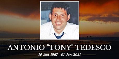 Visitation for Antonio Tedesco tickets