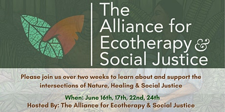 Ecotherapy & Social Justice Dialogues: International Perspectives tickets