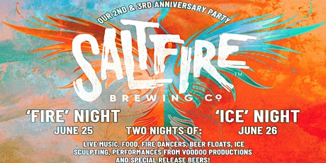 SaltFire Brewing 2nd & 3rd Year Anniversary tickets