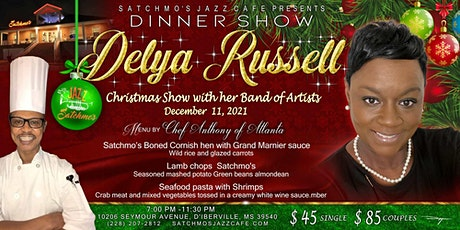 Christmas Show With Delya Russell and Her Band Of Artists tickets