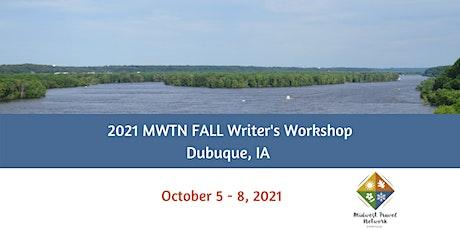 MWTN 2021 FALL Writer's Workshop - Dubuque, IA (October 5-8) tickets