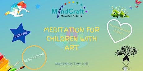 Toddler Meditation and Art Workshop tickets