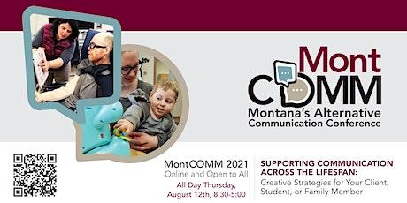 MontCOMM 2021 biglietti