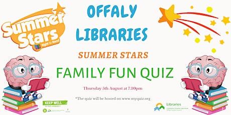 Summer Stars Reading Adventure Family Quiz tickets