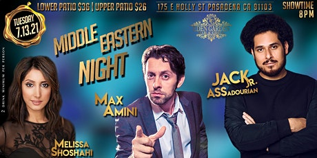 Middle Eastern Comedy Night with Jack Assadourian  and Max Amini tickets