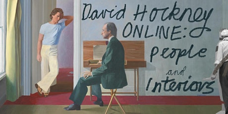 DAVID HOCKNEY ONLINE: Drawing People and Interiors tickets